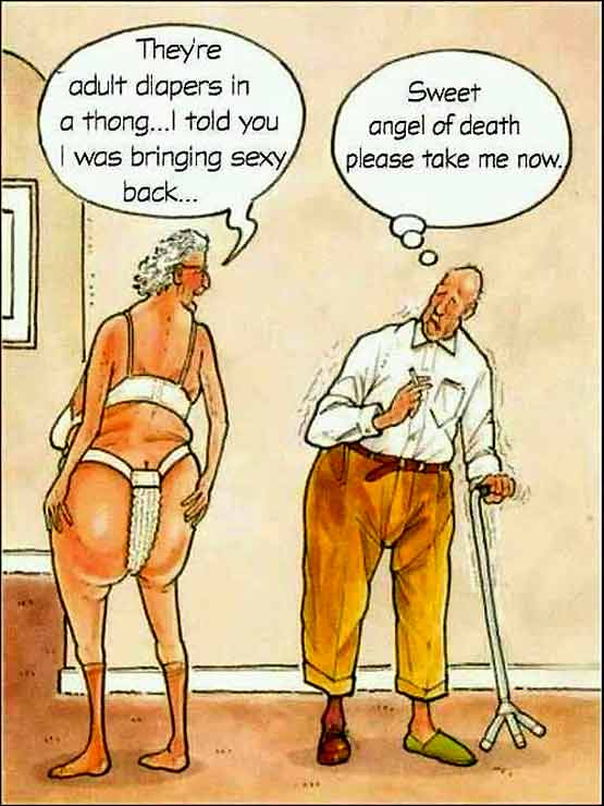 Thong for Pensioners