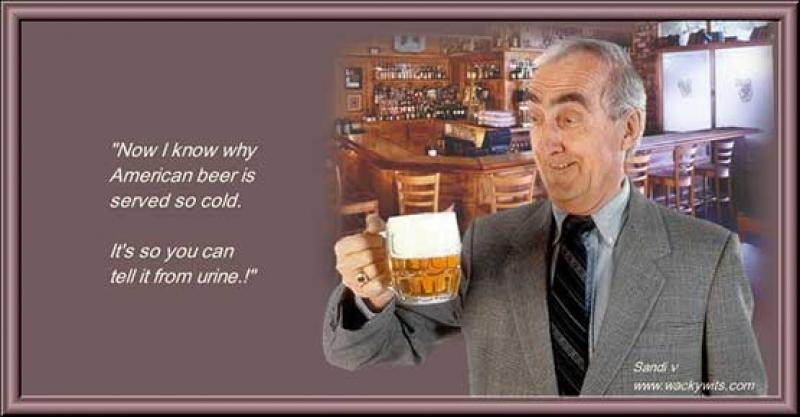 The real reason American beer is served cold
