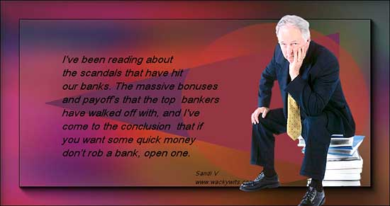 open a bank instead
