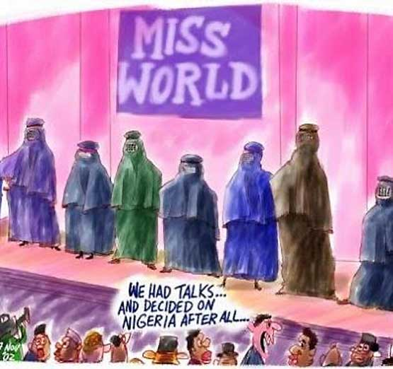 Miss World Burga Parade