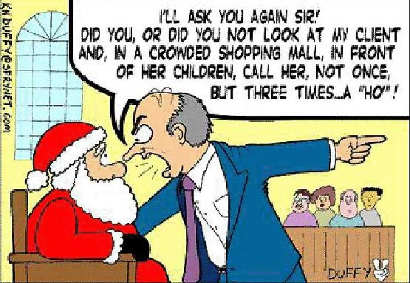 Santas sexual harassment trial
