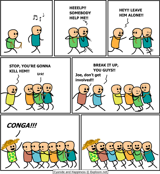 Joke of the Day   It's the Conga