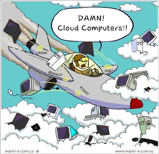 Beware of bloody cloud computing