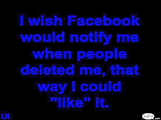 Facebook Friend Deleted Me