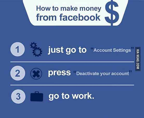 Facebook - How To Make Money