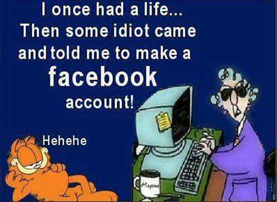 I Once Had a LIfe - before Facebook