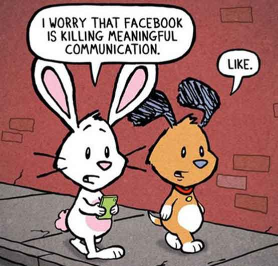 Facebook kill art of communication