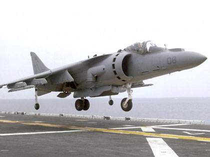 Harrier jump jet -Joke of the day
