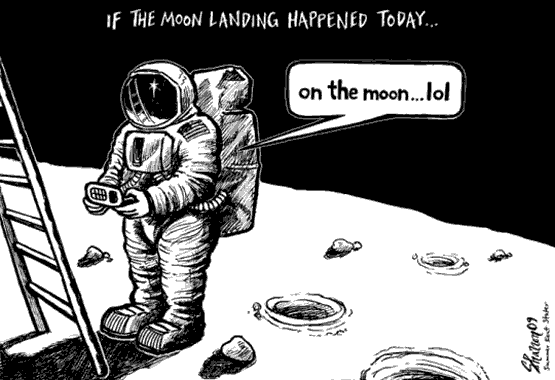 If the moon landing happened today...