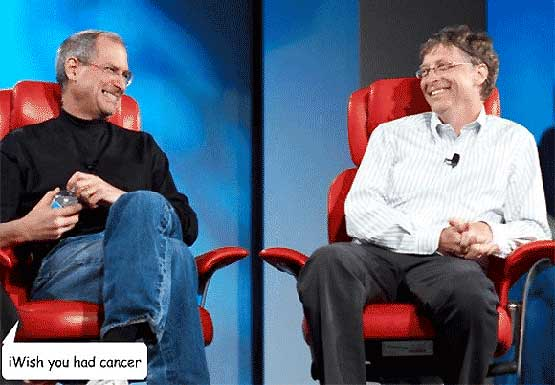 Steve Jobs - iQuit - iWish you had cancer