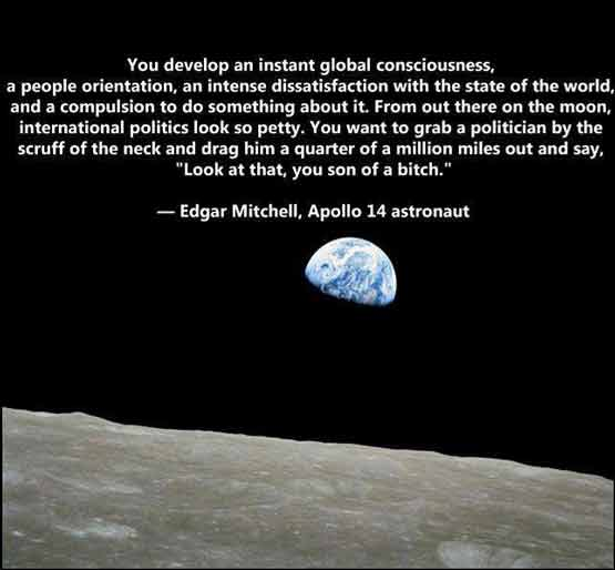 Wise Words from the Man on the Moon