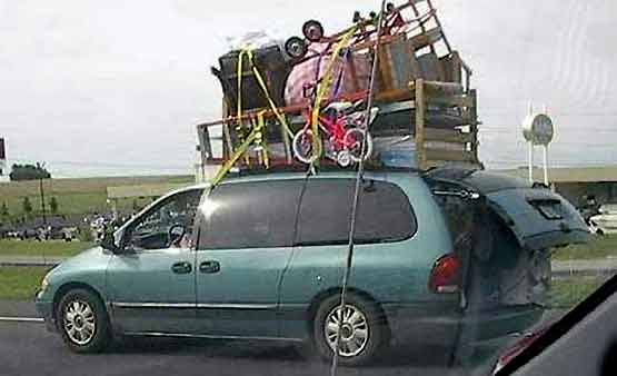 Safety at Work - Overloaded Car 002