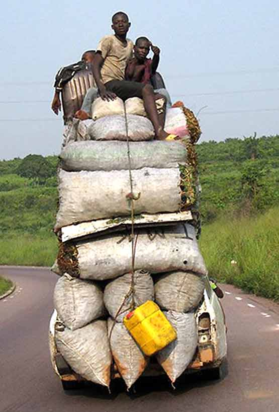 Safety at Work - Overloaded Truck - 001