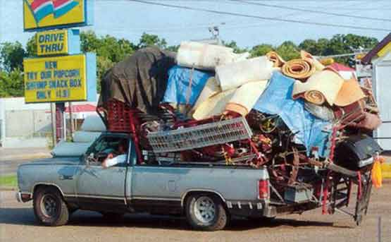 Safety at Work - Overloaded Truck-009