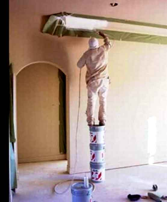 Safety at Work: Paint Tins