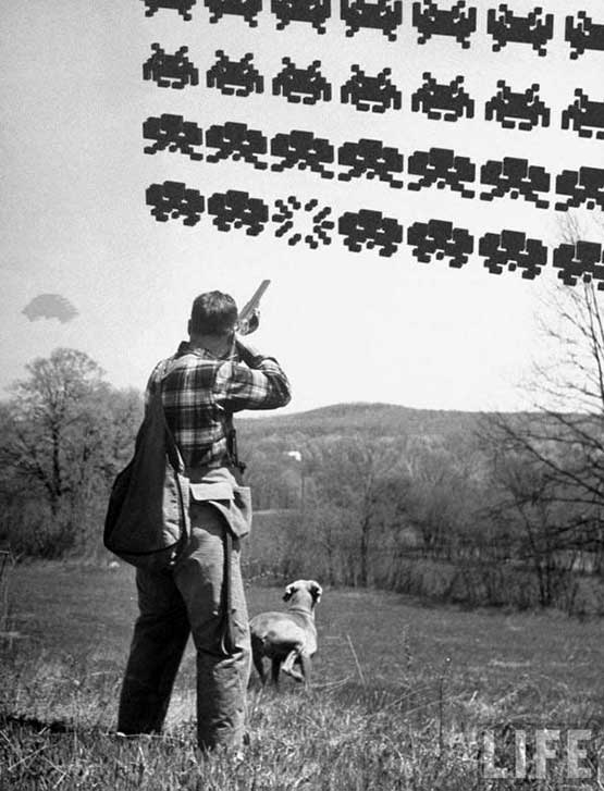 Real Space Invaders
