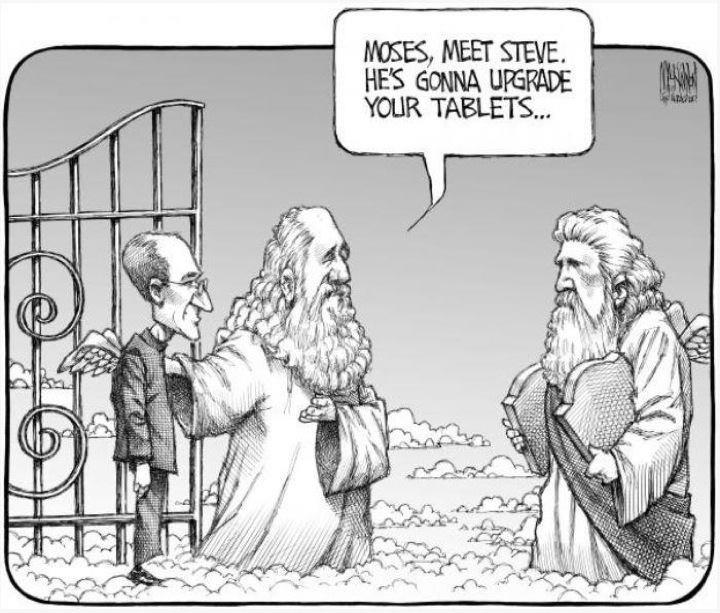 Steve Jobs upgrades tablets