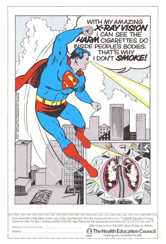 superman no smoking