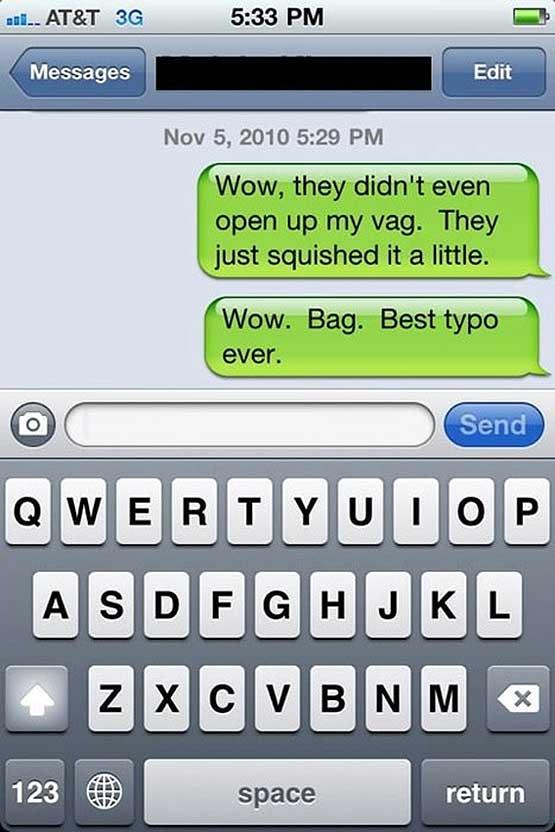 beware of predictive text