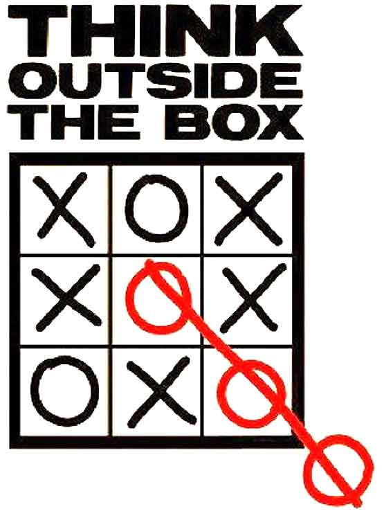 Best way to think outside the box