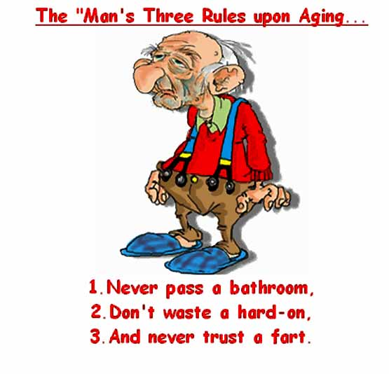 Three Rules for Men Only