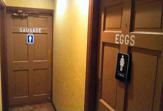 Amusing Toilet Signs