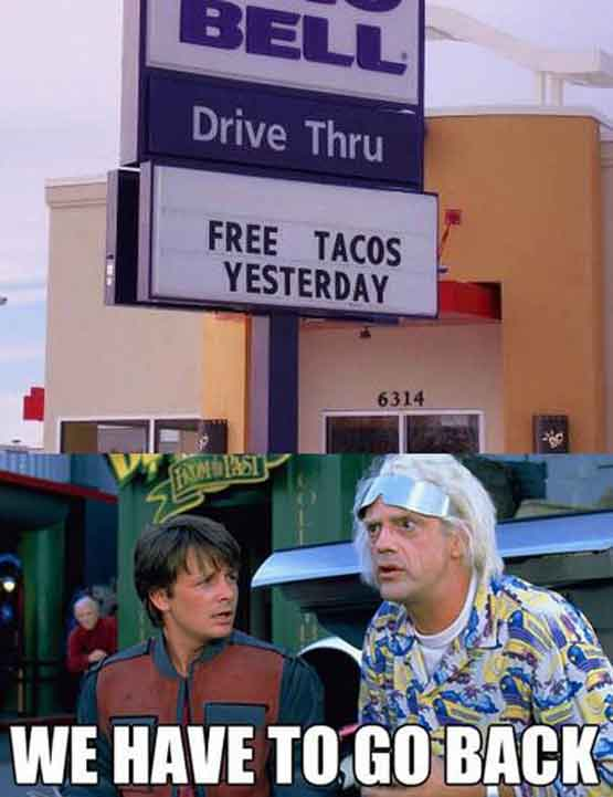 Too Early for Free Taco Bells