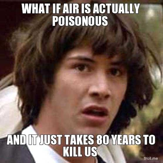what if the air is poisonous