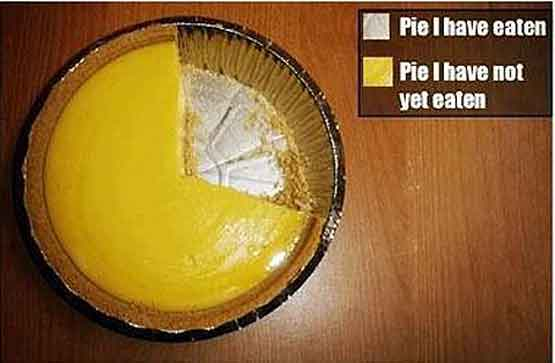 The Worlds Most Accurate Pie Chart